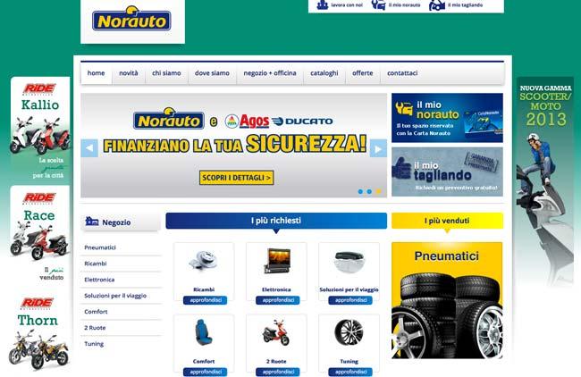 Norauto :: Campagne adwords, SEO