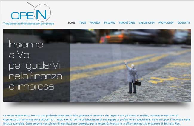 Open Torino :: Sviluppo sito web